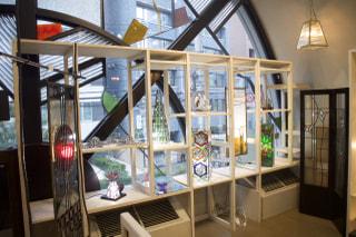 神楽坂 がらすらんど本社ギャラリー『Contenporary Stained Glass Art in神楽坂』展にGirasole会員が多数出展