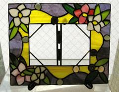 大迫敦子さんのステンドグラス作品