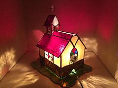 遠藤ともみさん作 ハウス型ランプ