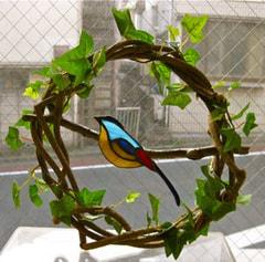 山口美枝さんのステンドグラス作品