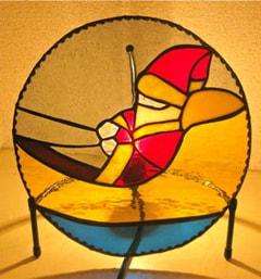 五十嵐亜美さんのステンドグラス作品