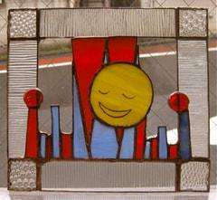 清水千佳代さんのステンドグラス作品
