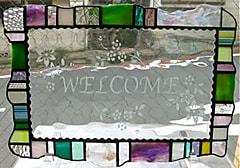 田中直美さんのステンドグラス作品