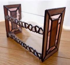 川越有紗さん作 ステンドグラス収納ケース
