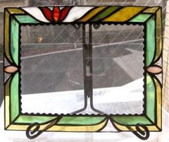 栗田知子さんのステンドグラス作品                                     [東京 目黒 自由が丘ステンドグラス教室]