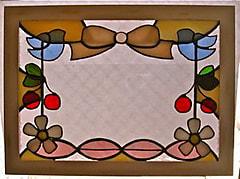 上田真祈子さんのステンドグラス作品