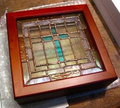 伊藤知香さんのステンドグラス作品