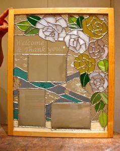 木村理恵さんのステンドグラス作品です。