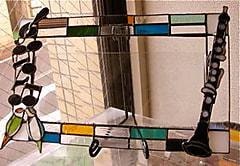 稲垣翔子さんのステンドグラス作品