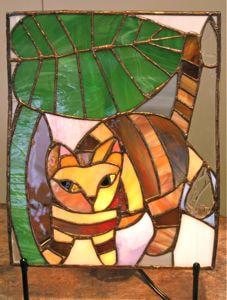濱田由樹さんのステンドグラス作品