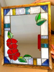 増澤洋子さんのステンドグラス作品