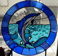 西村聖美さんのステンドグラス作品