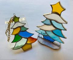 安藤直子さん 作 クリスマスツリーとバックチャーム