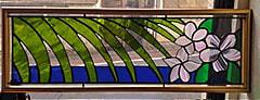 権 恵淑さんのステンドグラス作品