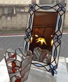 近藤純子さんのステンドグラス作品