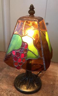 葡萄模様のランプシェード