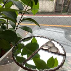 石田瑞枝さん作 手鏡