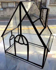 鈴木絵美子さんのステンドグラス作品