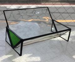 亀掛川 巧さんのステンドグラスで名刺スタンド