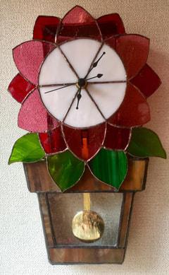 石田佳恵子さんの壁掛け振り子時計