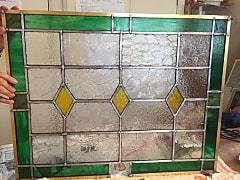 村木智嘉子さんのステンドグラスケイムパネル